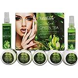 NUTRIGLOW Green Tea Facial Kit With Skin Toner And Serum