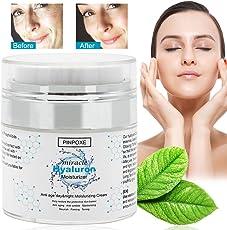Hyaluron Creme, Anti Aging Creme, mit Retinol/Vitamin E, Reduziert Falten