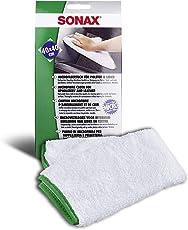 SONAX Microfasertuch für Polster, Textil und Leder zur fusselfreien Fahrzeuginnenreinigung (40x40 cm), bei 60°C waschbar | Art-Nr. 04168000