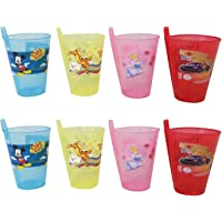 BigMart™ The All-in-One , Cartoon Printed Food Grade Plastic Sippers with Straw, Best Birthday Gifts-Children Food Toy…