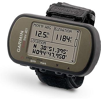 Garmin Foretrex 401 GPS da Polso, Altimetro Barometrico, Bussola Elettronica, Cachi scuro