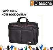 Classone CL310 Pavia Serisi Notebook Çantası, Siyah