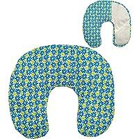 """Cuscino termico cervicale con noccioli di ciliegia""""Blue Summer"""" 36 x 32 cm - ripieno con 600gr di noccioli di ciliegie…"""
