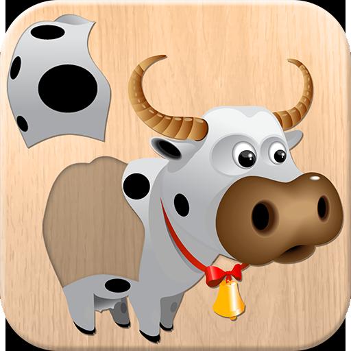 Tiere Puzzle für Kinder