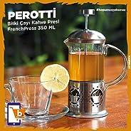 Perotti Bitki Çayı Kahve Presi FrenchPress 350 ML