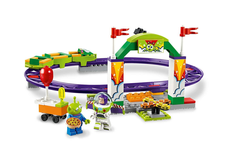 LEGO Juniors Ottovolante Carnevalesco, Gioco per Bambini, Multicolore, 262 x 191x 46 mm, 10771 2 spesavip