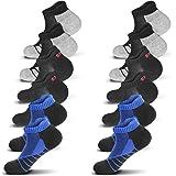Trainer Socks for Men Women 3/6 Pairs Running Socks Ankle Socks Cushioned Athletic Socks