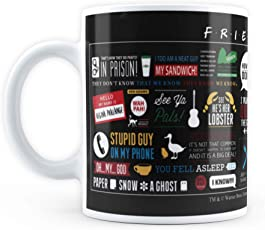 """Mc Sid Razz Official"""" F.R.I.E.N.D.S"""" - Friends Fans/Collectable/Memorables Coffee Mug - Licensed by Warner Bros, USA"""