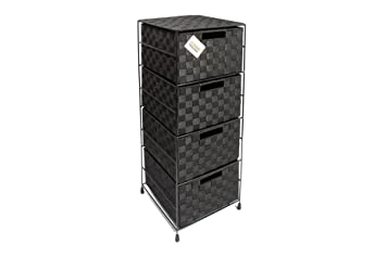 Ehc 4drawer Storage Cabinet For Black