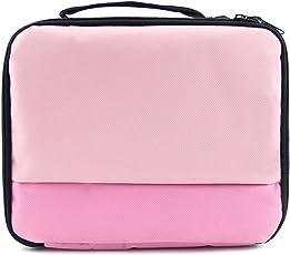 Vococal Universale Portable Travel Carry Storage Protector Bag Protection Borsa Custodia per Canon SELPHY CP1200 CP910 HiTi Prinhome P310W Foto Stampante Rosa