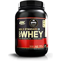 Optimum Nutrition (ON) Gold Standard 100% Whey Protein - 2 lbs, 907 g (Unflavoured)