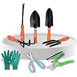 Kraft Seeds! Amazing's Choice |Gardening Tools Set –Top 5 Heavy Duty Garden Tool Set with Non- Slip Plastic Handle…