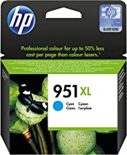 HP 951XL Cyan Original Ink Advantage Cartridge - CN046AE