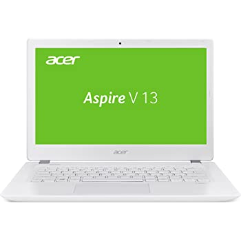 Acer Aspire V 13 (V3-372-33XV) 33,8 cm (13,3 Zoll Full HD IPS) Laptop (Intel Core i3-6157U, 4GB RAM, 128GB SSD, Intel Iris Graphics 550, Win 10 Home) weiß