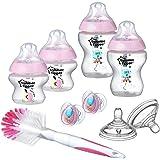 Tommee Tippee Closer to Nature Starterset für Neugeborene Babyflaschen Zubehör