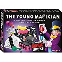 EEMS The Young Magician 101 Amazing Magic Tricks for Kids (Multicolour)
