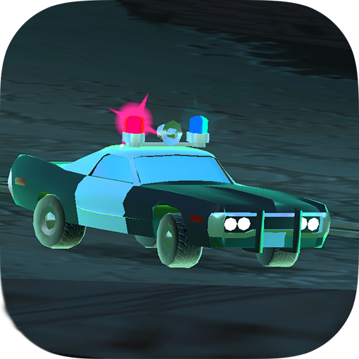 App:Car Race Simulator (Halloween Town Cartoon)
