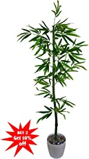 Thefancymart Artificial Bamboo Tree (size 1.5 ft/18 inchs/ 45 cms) without pot-1283