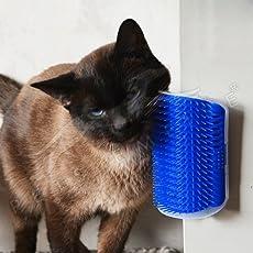 Pets Empire Cats Pets Toy Design Self Groomer Wall Corner Massage Combo