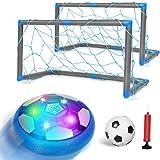 Auney Air Power Fußball Set mit Fußballtor Kinderspielzeug Fußball Geschenk Junge Mädchen Wiederaufladbar Hover Soccer Ball S