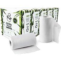The Cheeky Panda – Bamboo Kitchen Rolls | Bulk Box of 10 Rolls (5 Pack of 2 Rolls, 2-Ply) | Biodegradable, Multipurpose…