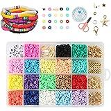 Guanyj Klei Kralen Clay Spacer DIY kralen Set kralen Kralen Armband Ketting Maken Kit kinderen DIY Kralen Met Elastische Draa