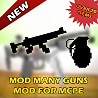 Mod Many Guns Pack for Minecraft PE