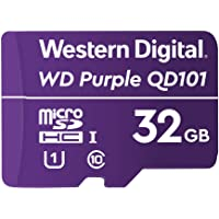 Western Digital WD Purple 32GB Surveillance and Security Camera Memory Card for CCTV & WiFi Cameras (WDD032G1P0C)