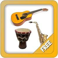 Music instruments and sounds for toddlers