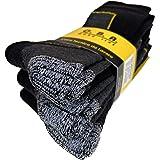 ITALIAN ENDURANCE calze calzini invernali da Lavoro Uomo -Termiche in Pile misto Lana con punta e tallone rinforzati,elevato