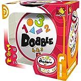 Dobble - vormen en cijfers (Asmodee DOBCF01ES), Spaans en Portugees
