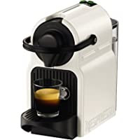 Krups YY1530FD Machine à Café Nespresso Inissia Espresso Lungo Capsules 19 Bars Cafetière Blanche
