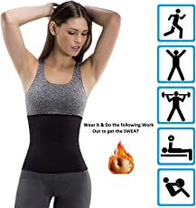 ADA Hot Body Slim Shaper Slimming Belt - ADA Hot Body Shapers Tummy Trimmer Neotex Belt (Unisex)