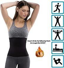 ADA Hot Body Slim Shaper Slimming Belt - ADA Hot Body Shapers Tummy Trimmer Neotex Belt (Unisex)