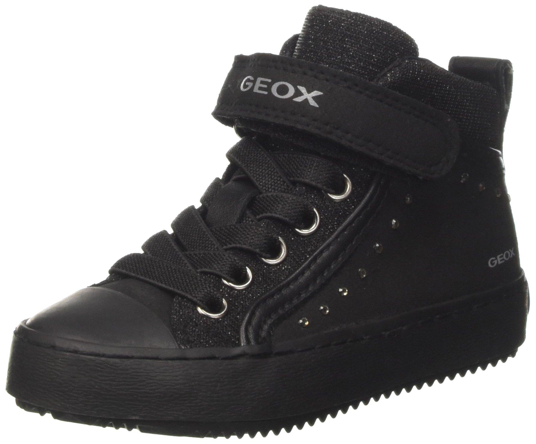 Geox J Kalispera Girl I, Sneaker a Collo Alto Bambina