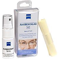 ZEISS Kit anti-buée (spray 15 ml + chiffon) - Protection efficace contre la buée