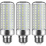 Tebio LED zilveren maïs gloeilampen E27 25W 200W Equivalent aan gloeilampen niet dimbaar 6000K koud wit 2500LM medium Edison-