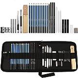 Lapices de Dibujo Artístico, Lypumso Set de Lápices Profesional del Artista y Bosquejo Carbón Grafito Sticks, Lápices de Made