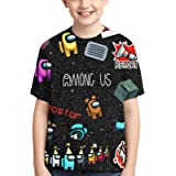 Camiseta Among Us Camiseta Niños Among Us Impostor Character Colors Camiseta Niños Niñas Camiseta Viral Gamer