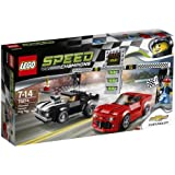 LEGO Champions Speed Chevrolet Camaro Drag Race Pc(S) Building Sets (Any Gender, Multicolour), Multicolore, 75874