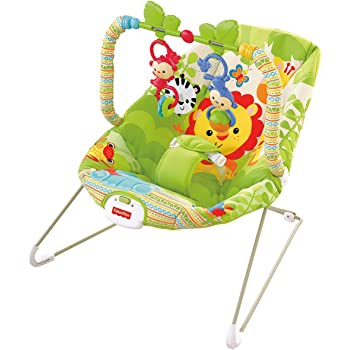 d43f6e84bd23 Fisher-Price Rainforest Friends Baby Bouncer  Amazon.co.uk  Baby