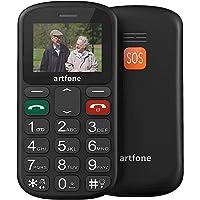 artfone Seniorenhandy ohne Vertrag | Dual SIM Handy mit Notruftaste | Rentner Handy große Tasten | GSM Handy…