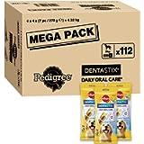 Pedigree Dentastix - Daily Dental Care Chews, Large Dog Treats from 25 kg+, 1 Box - 112 Sticks