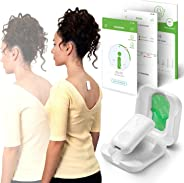 Upright GO 2 Lighter, Smaller Posture Corrector | Strapless, Discrete, Easy to Use Trainer with 30 Hours Battery Life | 1-Tou