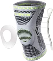 Velpeau Knee Brace - Best Knee Support with Patella Gel Pads & Side Stabilizers - Compressive Stabilized Sleeve of the Knee,