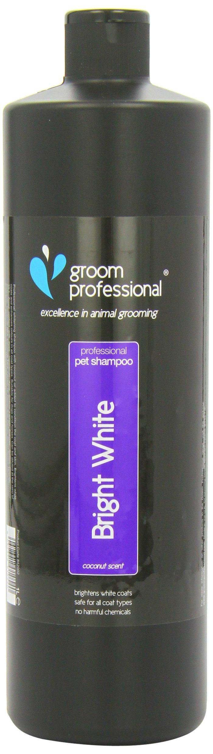 Groom Professional Bright White Shampoo, 1 Litre