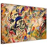 Canvas It Up Composition VII par Wassily Kandinsky sur Toile, décoration Murale, décoration Chambre Impressions Photos