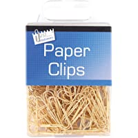 Just Stationery 9192 Assorted Hanging Box Paper Clips, Pack of 120