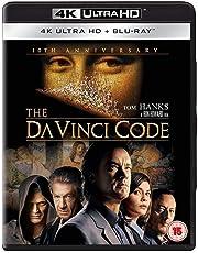 The Da Vinci Code: 10th Anniversary Edition (4K UHD + Blu-ray + Bonus Disc + Digital HD + UV) (3-Disc Set) (Slipcase Packaging + Region Free + Fully Packaged Import)