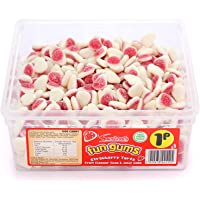 Swizzels Matlow Fun Gum Tubs Strawberry Tarts (1 Pack of 600 Pieces)